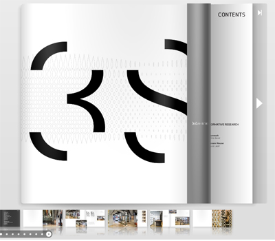a view of the interactive book at Issuu.com