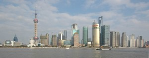 Pudong viewed from The Bund 2009